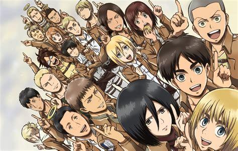 shingeki  kyojin review anime tree