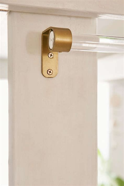 curtains durable curtain rod bracket extender