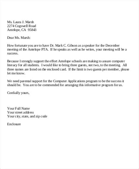 personal business letter sample  examples  word