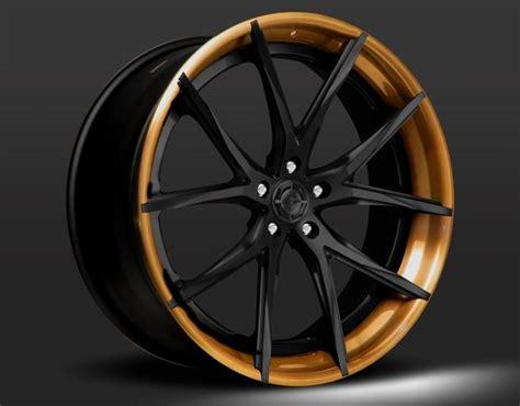 Cars With Bronze Rims : Lexani Bronze Lip Black Center Wheel