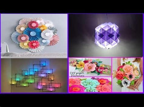 top  paper crafts paper room decor ideas diy easy
