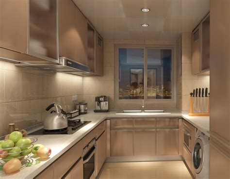 kitchen interior designer kitchen interior design rendering with fruit decoration