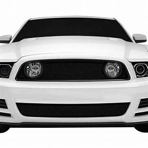 T-Rex® - Ford Mustang GT 2014 3-Pc Sport Series Black Formed Mesh Grille
