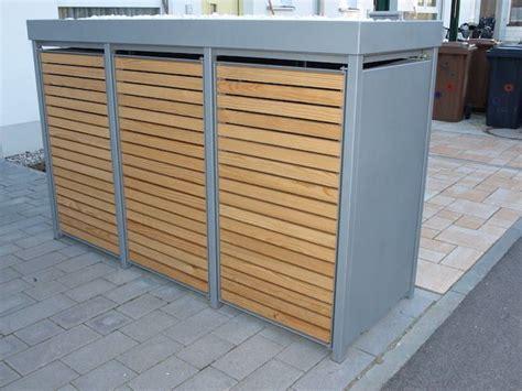 mülltonnenbox mit pflanzdach selber bauen die m 252 lltonnenbox alu mit l 228 rchet 252 ren wird ohne lochung mit vierkantlochung oder rundlochung