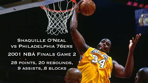 shaquille oneal  ers  nba finals game  full