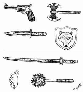 Weapon Sketches by MDTartist83 on DeviantArt