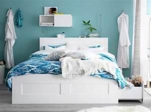 Ikea Möbel Betten : bett brimnes neu und gebraucht kaufen bei ~ Markanthonyermac.com Haus und Dekorationen