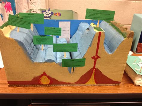 the floor project seamount ocean floor ocean floor models 187 stretching forward kid projects pinterest