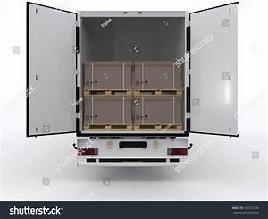 Open Truck Trailer Stock Illustration 189312230 Shutterstock