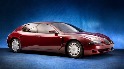 Flashback: The Bugatti EB112 V-12 Supersedan That Was ...