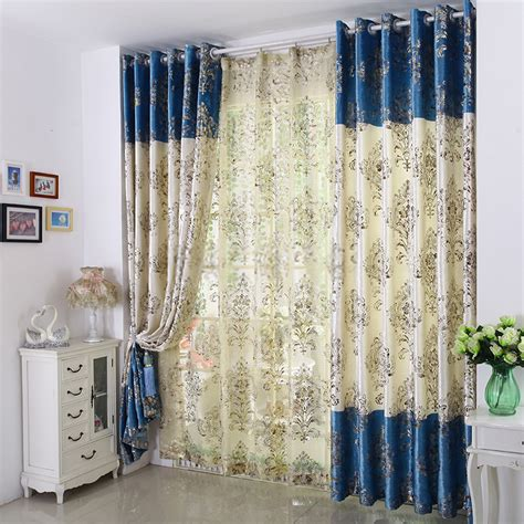 Unique Curtains by Unique Curtains And Drapes In Blue Of Typical European Style
