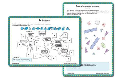 maths year  autumn shape lesson plans resources