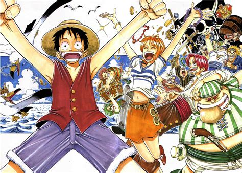 All 142 One Piece Color Spreads By Oda