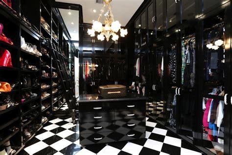 black and white closet contemporary closet har