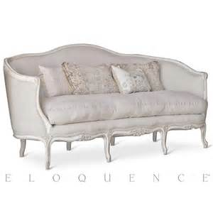 canape sofa eloquence seraphine canape sofa in gesso oyster kathy kuo home