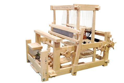 wooden loom isolated stock image image  fiber vintage