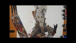 Assassin's Creed 3 Oil Painting (Time-lapse) - YouTube