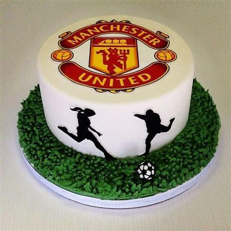 manchester united cake grooms cake soccer hands