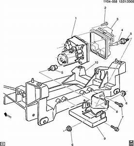 1997 Chevrolet Corvette Electronic Brake Control