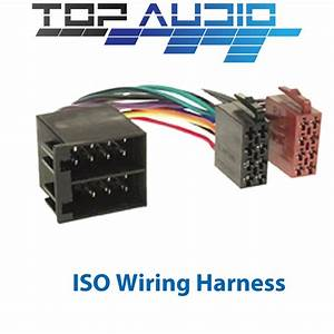 64 Iso Wiring Harness Adaptor Cable Connector Lead Loom
