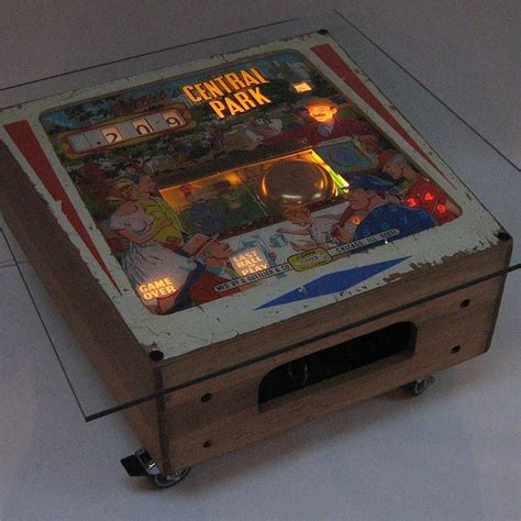 Vintage Gottlieb Pinball Coffee Table  Pinball, Coffee
