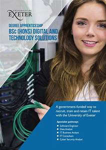 Degree apprenticeships University of Exeter by University ...