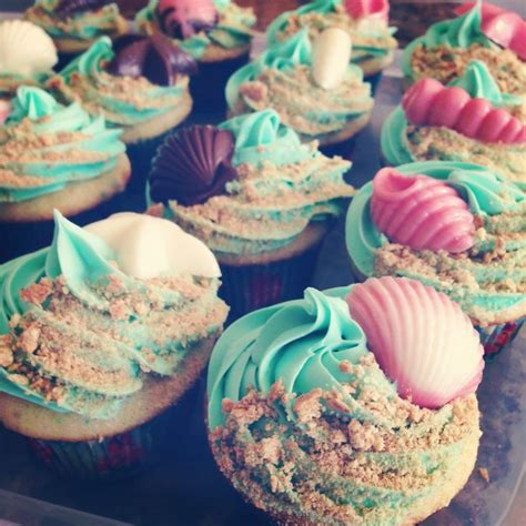 cupcake themes under the sea themed cupcakes atlantis prom pinterest