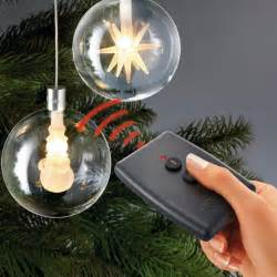 wireless led christmas tree balls with remote