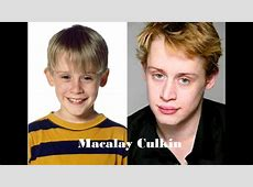 Macaulay Culkin Antes & Depois YouTube
