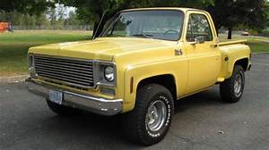 1977 77 75 76 78 Chevy K10 4x4 Pickup Short Bed Stepside