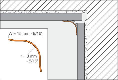 Fliesen Legen Wie Anfangen by Schluter 174 Eck Khk Heavy Duty Corners For Walls