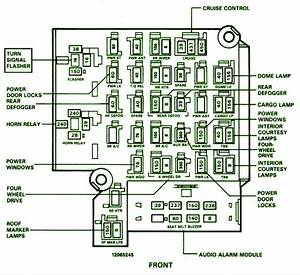1991 Chevrolet Silverado Fuse Box Diagram  U2013 Circuit Wiring
