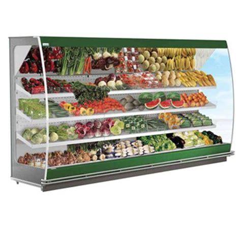 gondole murale refrigeree pour fruits et legumes vitrine