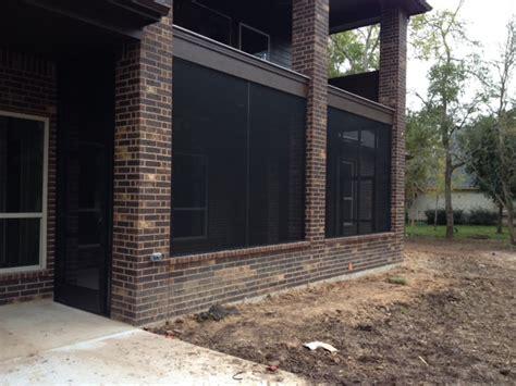bronze screened patio in richmond