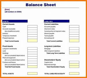 blank balance sheet sample essay apa format claims With corporate balance sheet template