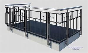 franzosischer balkon md04ap pulverbeschichtet anthrazit With französischer balkon mit steinbank für garten