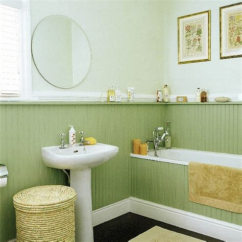 tongue and groove bathroom ideas bathroom with tongue and groove panelling housetohome co uk