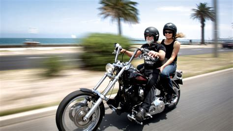 Harley Davidson Motorcycle Melbourne Tour