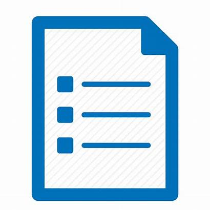 Icon Document Icons Bullets Graphic Transparent Paper