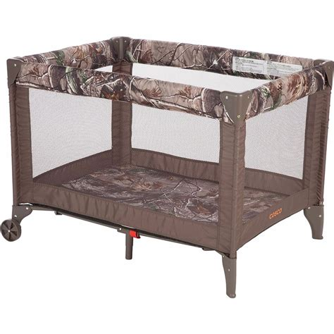 playpen for cosco baby toddler play pen play yard realtree orange