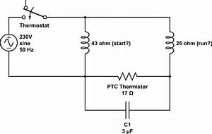 Capacitor - Refrigeration Compressor Circuit  Help Trying To Reverse Engineer It