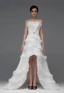 brautkleider kurz whiteazalea high low dresses choosing high low wedding dresses for the big day