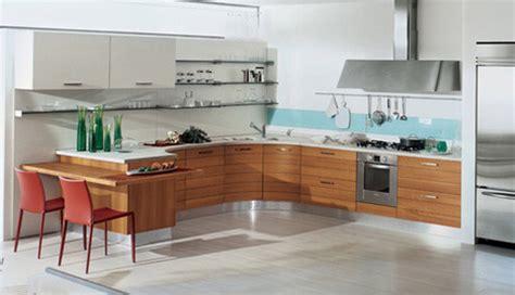 bunob kitchen  bontempi cucine smooth curving cabinets