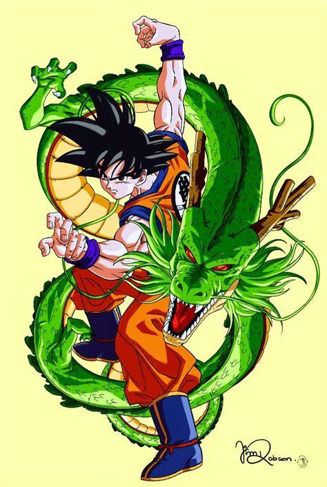 goku shenron dragon ball  desenhos dragonball
