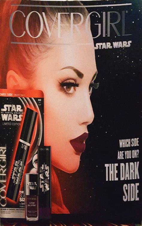 covergirl launching  star wars makeup   star wars underworld