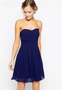 robe bustier bleue comment la porter un mariage With robe pour mariage cette combinaison bagues anciennes