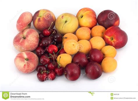 fruits with pits fruits with pit royalty free stock image image 843126