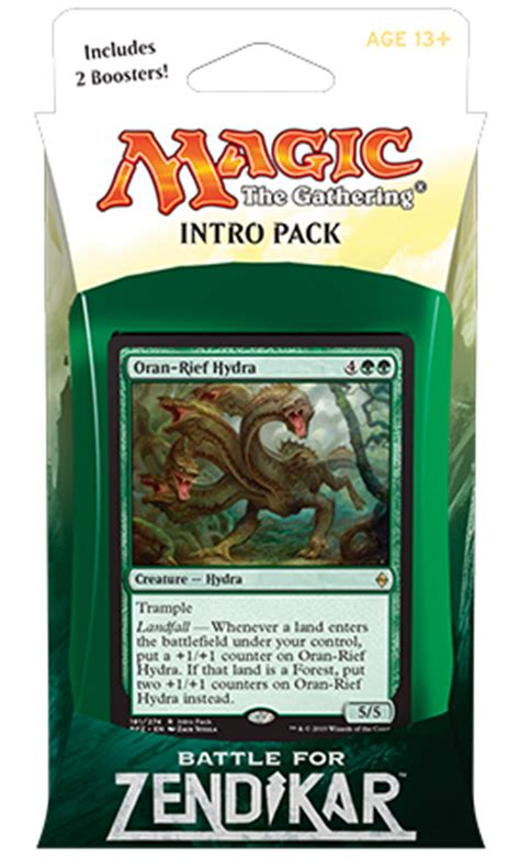 mtg landfall deck 2015 deck magic the gathering intro pack battle for