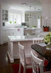 White gray countertops with old grey barnwood flooring for Kitchen colors with white cabinets with motion wall art