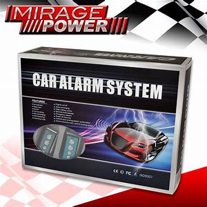 Alarm Keyless Entry  U0026 Remote Start System With Starter